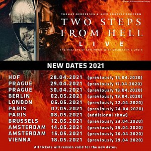 Two Steps From Hell Live 2021